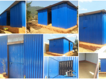 Semi permanent shelters for earthquake victims