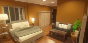 Hotel apartment and room design