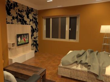 Gongabu Guest House Interior Design
